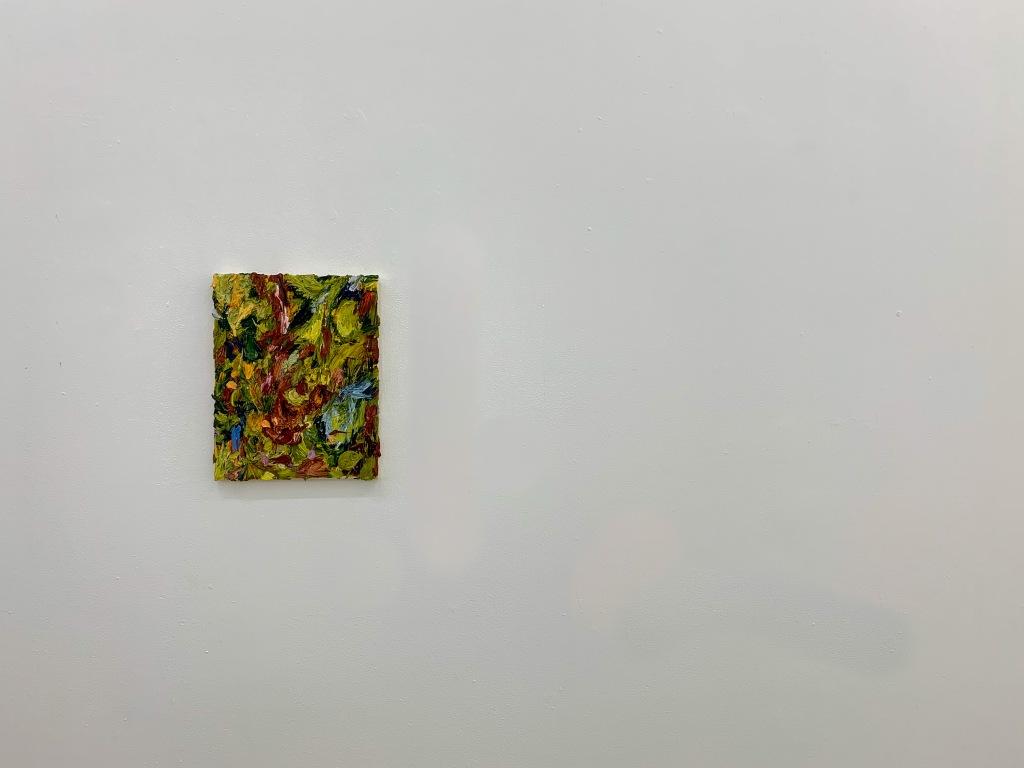 12'' x 9'' óleo sobre lienzo